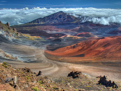 Haleakala Crater in Maui
