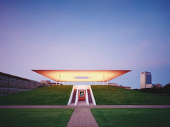 The James Turrell Skyspace Museum in Houston
