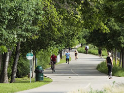 Katy Trail Park in Dallas