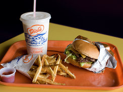 Dick's Drive-In Restaurant in Seattle
