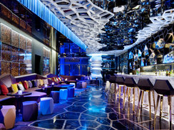Ozone Bar At the Ritz-Carlton in Hong Kong