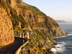 Chapmans Peak in Cape Town