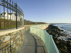 Cliff Walk in Rhode Island