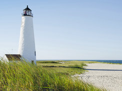 Great Point Lighthouse and Coatue in Nantucket