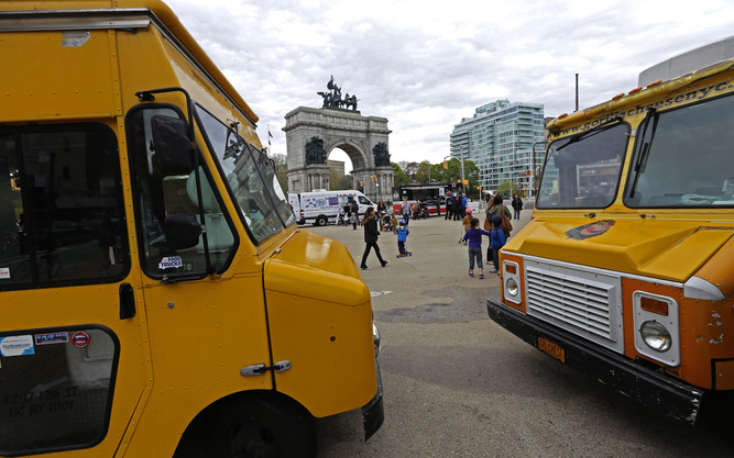 Grand Army Plaza Food Truck Rally