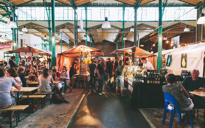 Street Food Thursdays at Markthalle IV market in Berlin