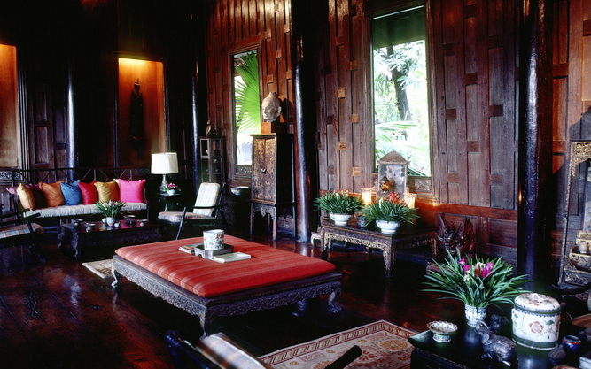 Jim Thompson House Museum in Bangkok
