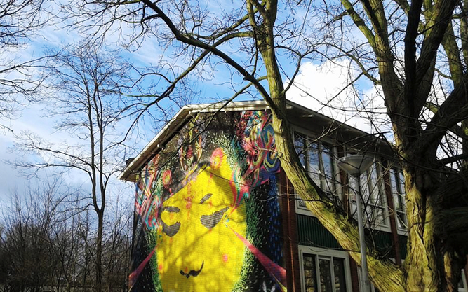 Street Art Museum Tour in Amsterdam