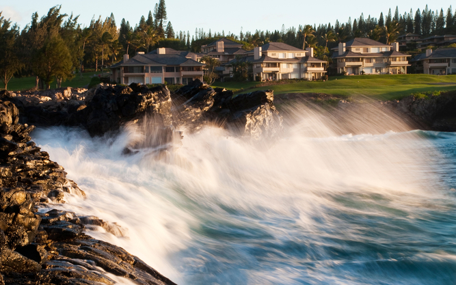 The Kapalua Villas Hotel in Maui