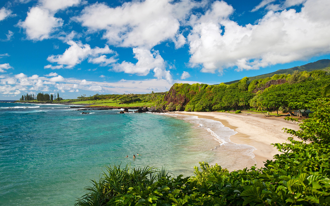 Hamoa Beach in Maui
