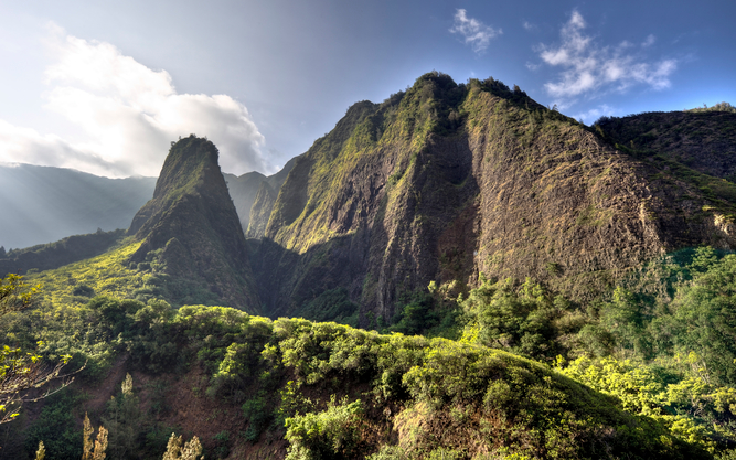 Iao Valley in Maui
