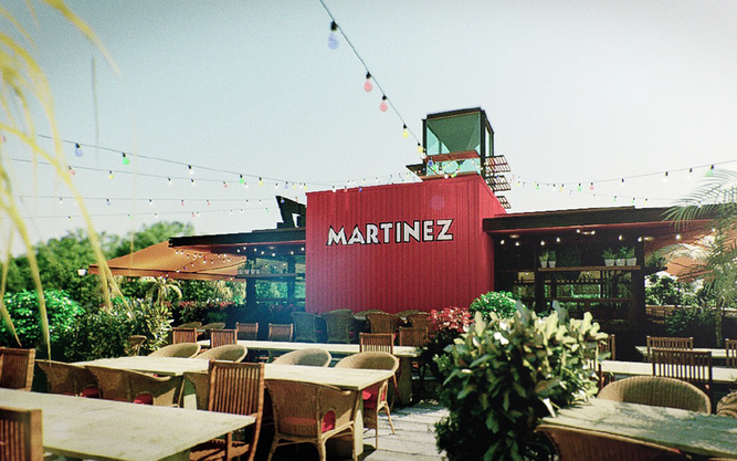 Martinez Restaurant in Barcelona