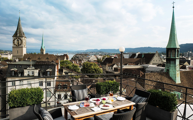 The Widder Hotel in Zurich