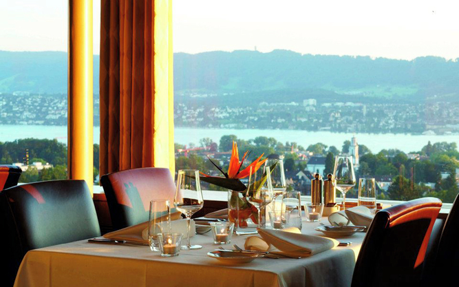 The Sonnenberg Restaurant in Zurich
