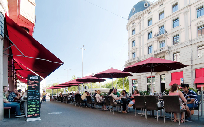 The Odeon Restaurant in Zurich