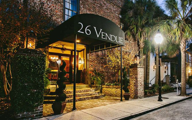 The Vendue Hotel in Charleston