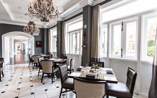 The Drawing Room Restaurant in Charleston