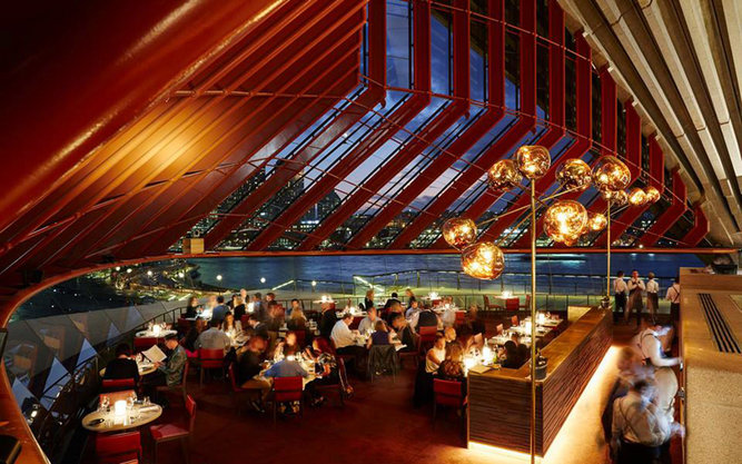 Bennelong Restaurant in Sydney