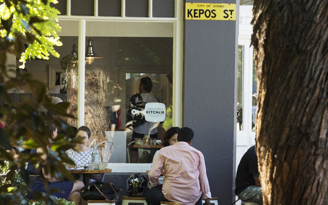 Kepos Street Kitchen Restaurant in Sydney