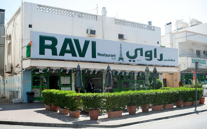 Ravi Restaurant in Dubai