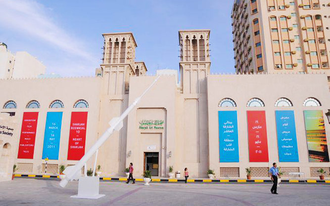 Sharjah Art Foundation in Dubai