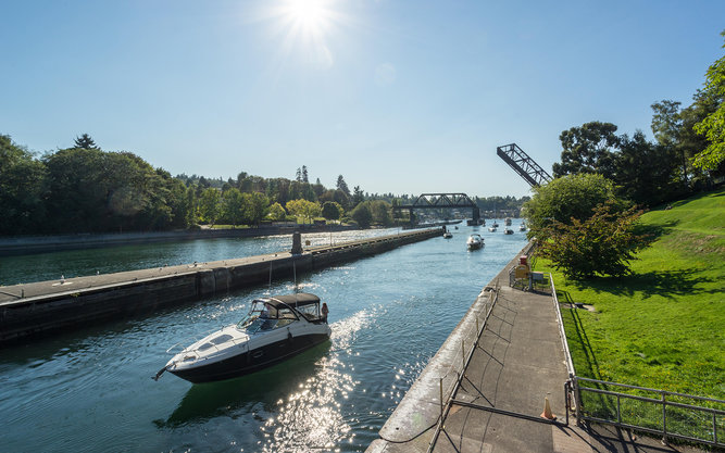 Hiram M. Chittenden Locks in Seattle