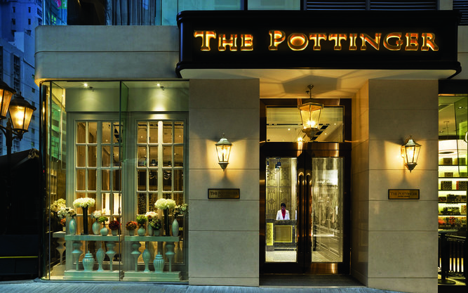 The Pottinger Hotel in Hong Kong