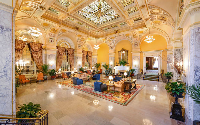 The Hermitage Hotel in Nashville