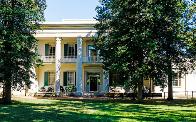 Andrew Jackson's Hermitage Home in Nashville