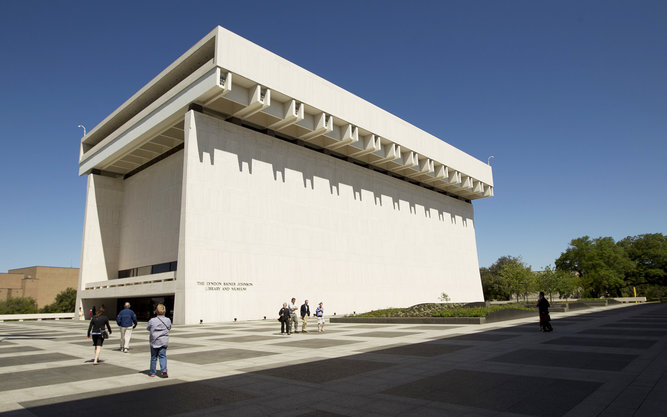 LBJ Presidential Library in Austin