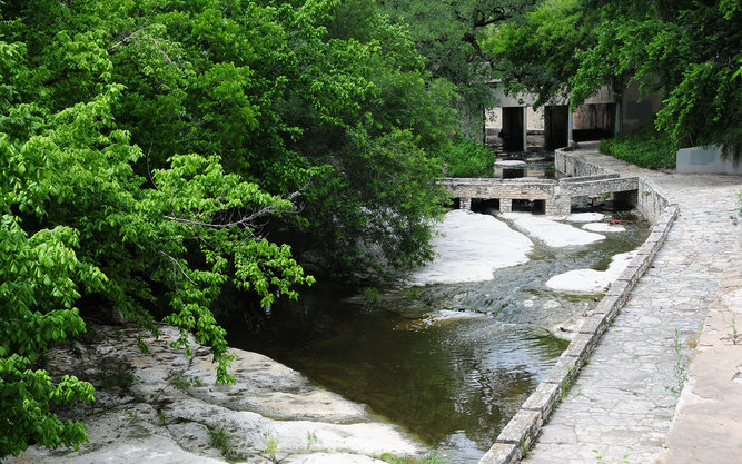 Waller Creek in Austin