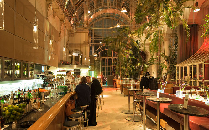 Palmenhaus Bar Restaurant in Vienna