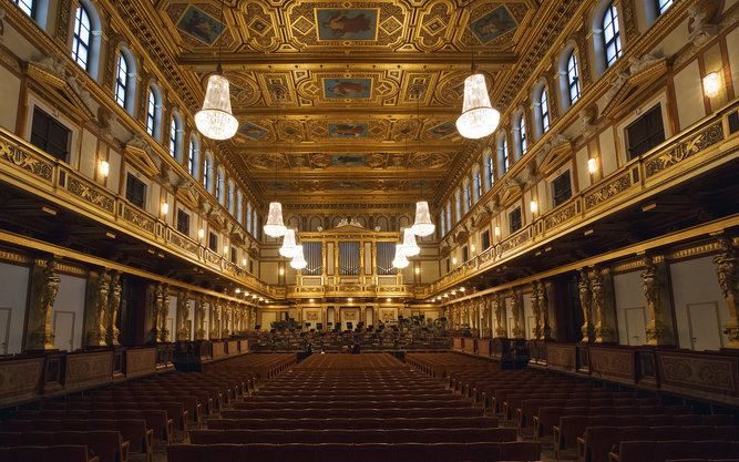 Musikverein Music in Vienna
