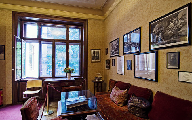 The Sigmund Freud Museum in Vienna