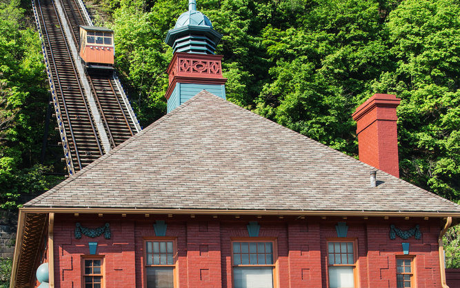 Monongahela Incline in Pittsburgh