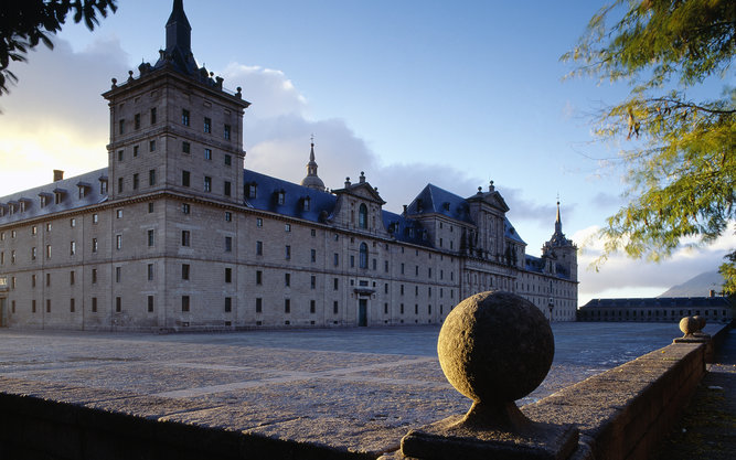 Royal Monastery San Lorenzo de El Escorial in Madrid
