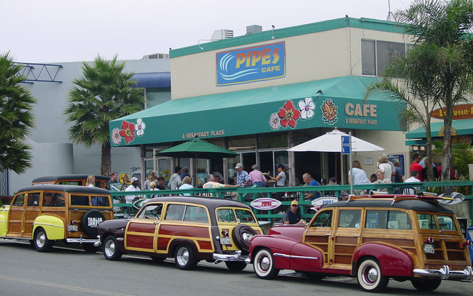 Pipes Cafe in San Diego