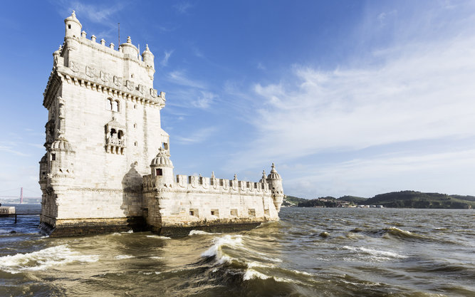 Torre de Belém Tower in Lisbon