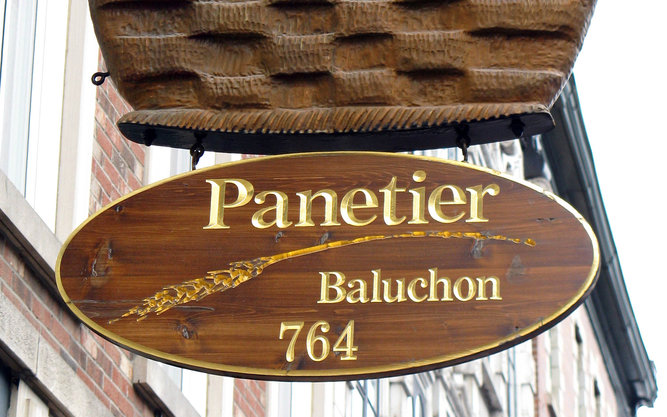 Panetier Baluchon Bakery in Quebec City
