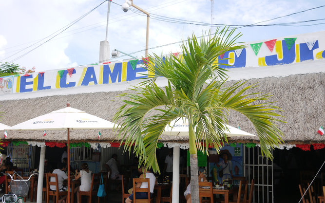 El Camello Jr. Restaurant in Tulum