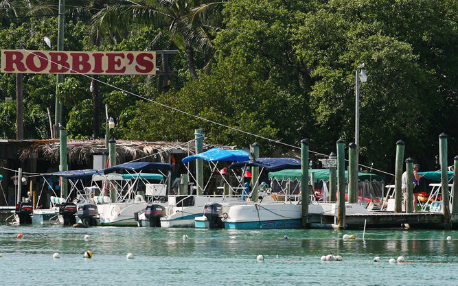 Robbie's Marina in Florida Keys