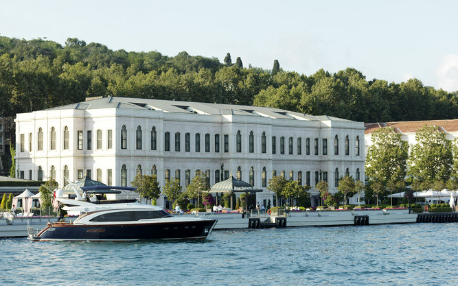 Four Seasons Bosphorus Hotel in Istanbul