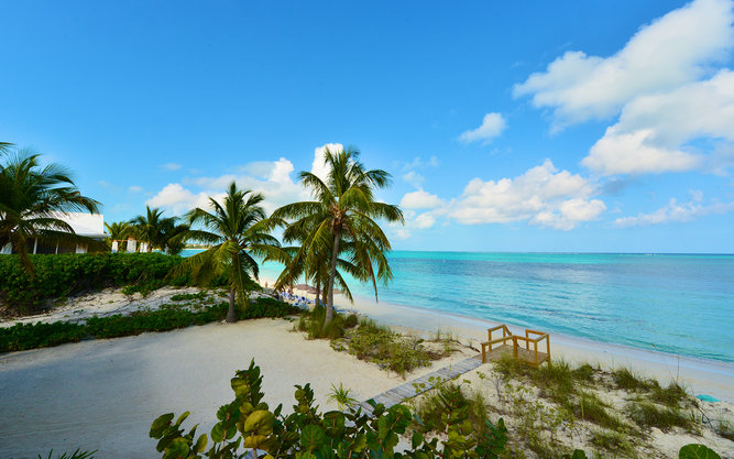 Grace Bay Beach in Turks and Caicos