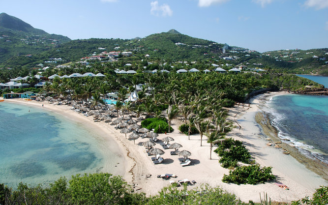 Grand Cul de Sac Beach in St. Barts