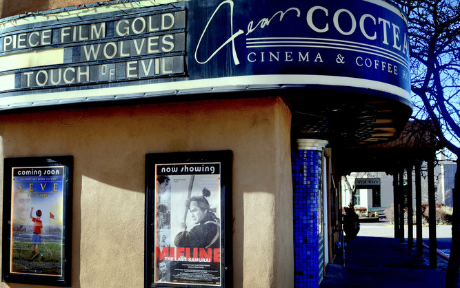 Jean Cocteau Cinema in Santa Fe