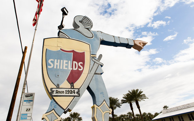 Shields Date Garden in Palm Springs
