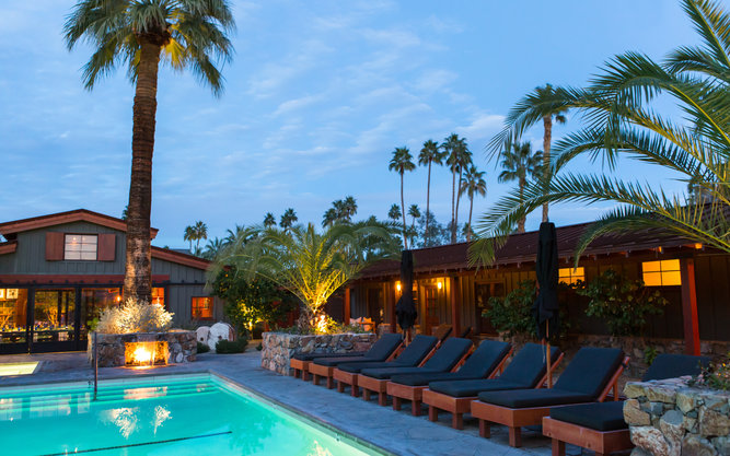 Sparrows Lodge Hotel in Palm Springs