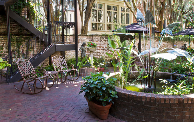 Eliza Thompson House Hotel in Savannah