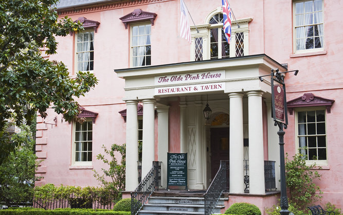 The Olde Pink House Restaurant in Savannah