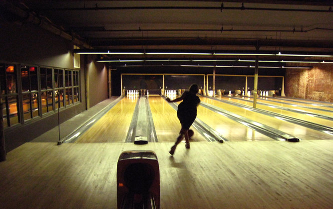 The Gutter Bowling Bar in Brooklyn NYC